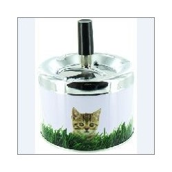 SPINNING ASHTRAY CAT III