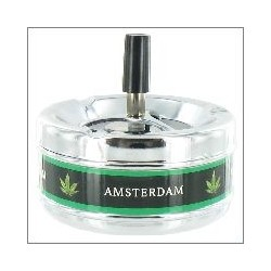 SPINNING ASHTRAY AMSTERDAM 11CM