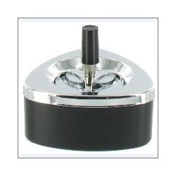 SPINNING ASHTRAY BLACK