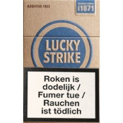 lucky strike additive free 19. Black Bedroom Furniture Sets. Home Design Ideas