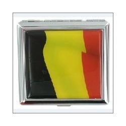 ALEXIS CIG. CASE EPOXY BELGIAN FLAG