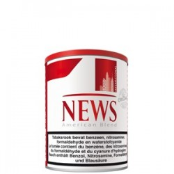 TABAC NEWS ROUGE POT 160GR