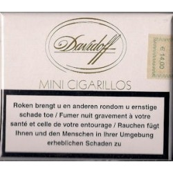 DAVIDOFF MINI CIGARILLOS GOLD EN 20