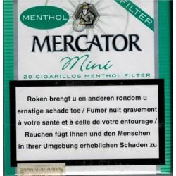 MERCATOR MINI MENTHOL FILTRES/20