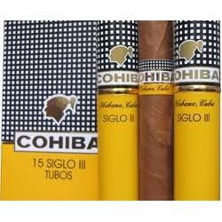 1 ETUI DE 5 CIGARES COHIBA SIGLO 3