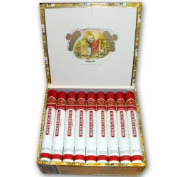 UNE BOITE DE 10 CIGARES ROMEO Y JULIETA CHURCHILL TUBE ALU