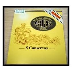 UN ETUI DE 5 CIGARES HAVANES (CONSERVAS)