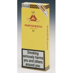UN ETUI DE 3 CIGARES MONTECRISTO Nr 2