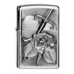 zippo 2.004311 HEART WITH ROSE