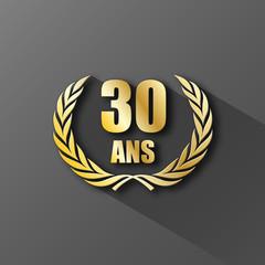 30 ans à votre service
