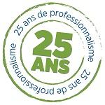 25 ans à votre service