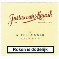 JUSTUS VAN MAURIK AFTER...