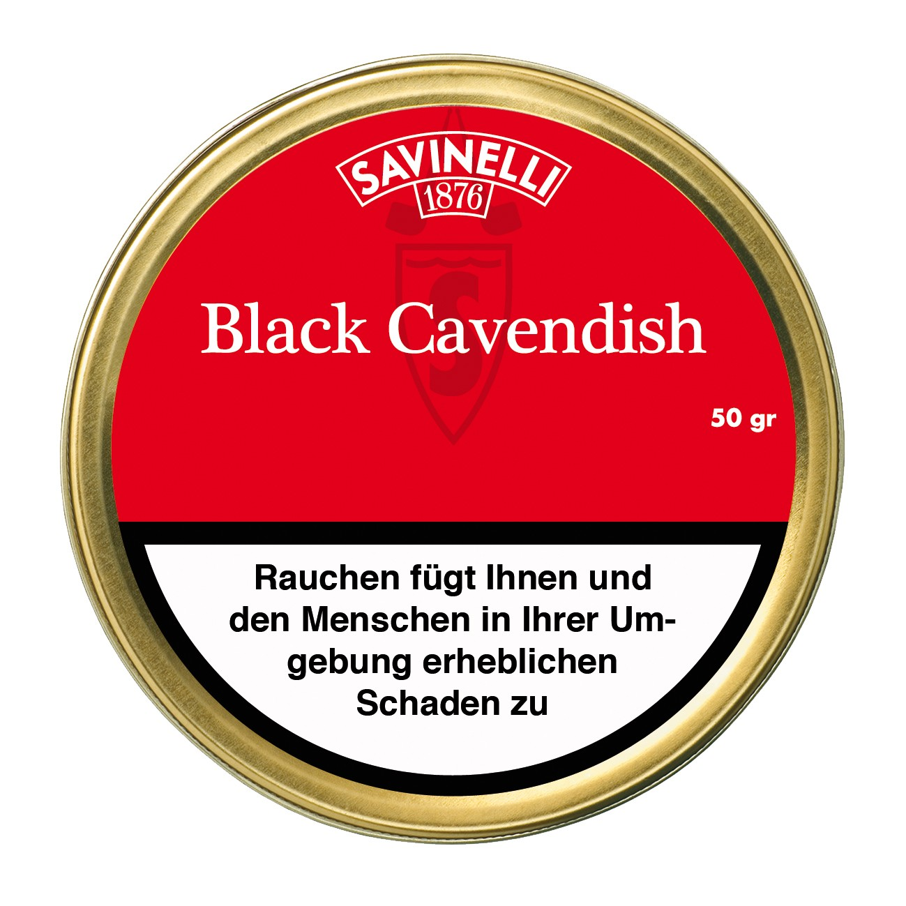 BLACK CAVENDISH SAVINELLI 50Gr.