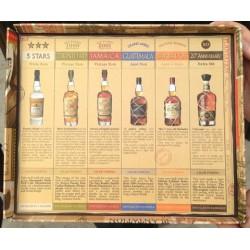 Rhum plantation gift pack 6 X 10CL