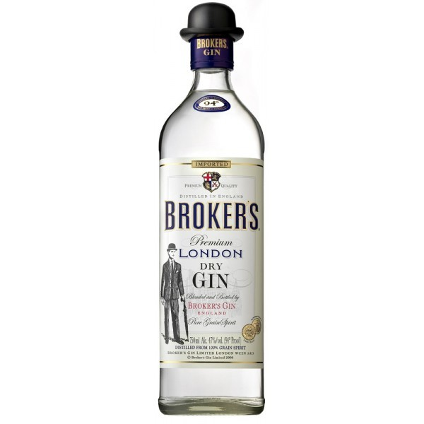 BROKER'S London Dry Gin 47% 0.7l
