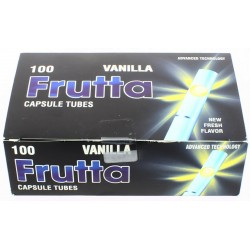 200 tubes  vanille