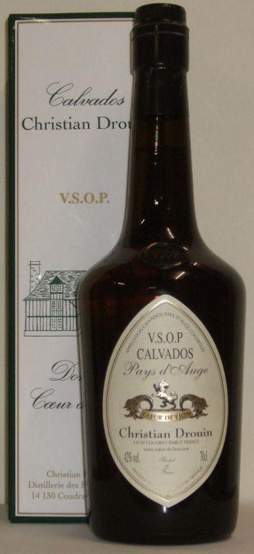 Calvados VSOP Coeur de Lion 0.7l - pale & dry 40°