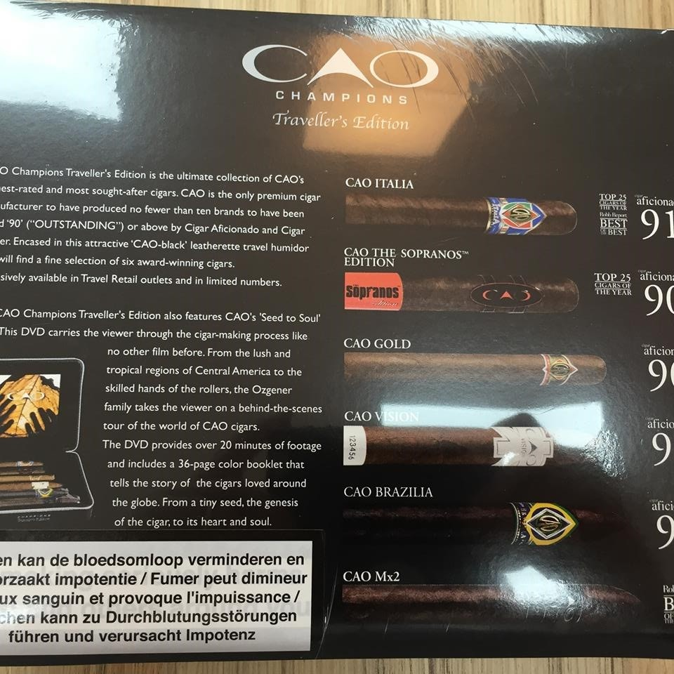 CAO TRAVEL BOX LIMITED EDITION/6