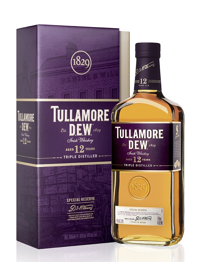 TULLAMORE DEW 12 ans Special Reserve 40% - 0.7l
