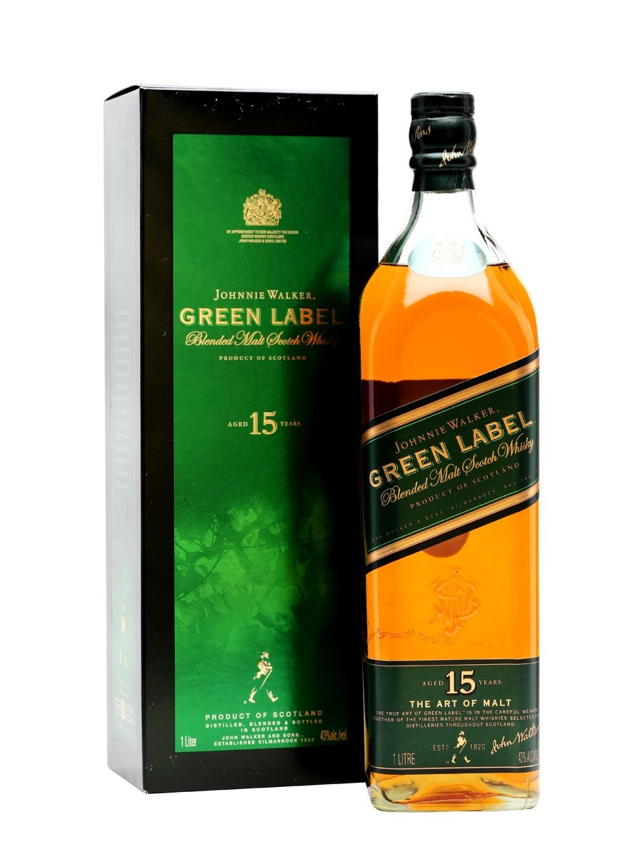 JOHNNIE WALKER GREEN LABEL 0.7L