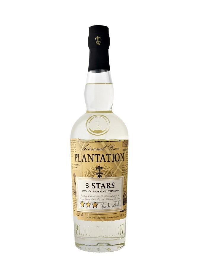 Plantation - Rhum blanc - 3 stars - 0,7L - 41°