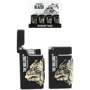 BULLDOG BLACK LIGHTER SHINNY