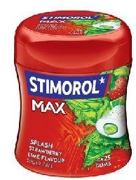 STIMOROL MAX STRAWBERRY/LIME 80G