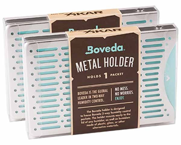 XIKAR BOVEDA 2-WAY HUMIDITY CONTROL METAL HOLDER 1 PACKET