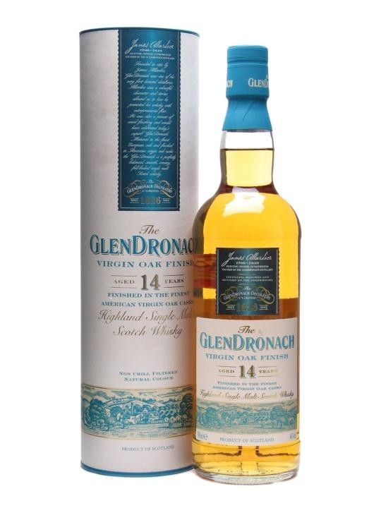 GLENDRONACH 14 ans Virgin Oak 46° - 0.7l