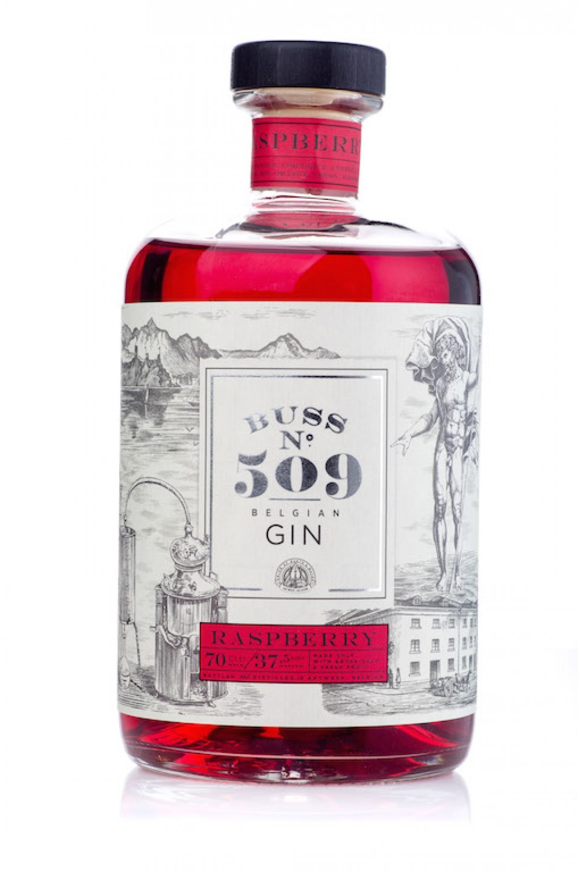 gin Buss Raspberry 37,5° -  0.7l