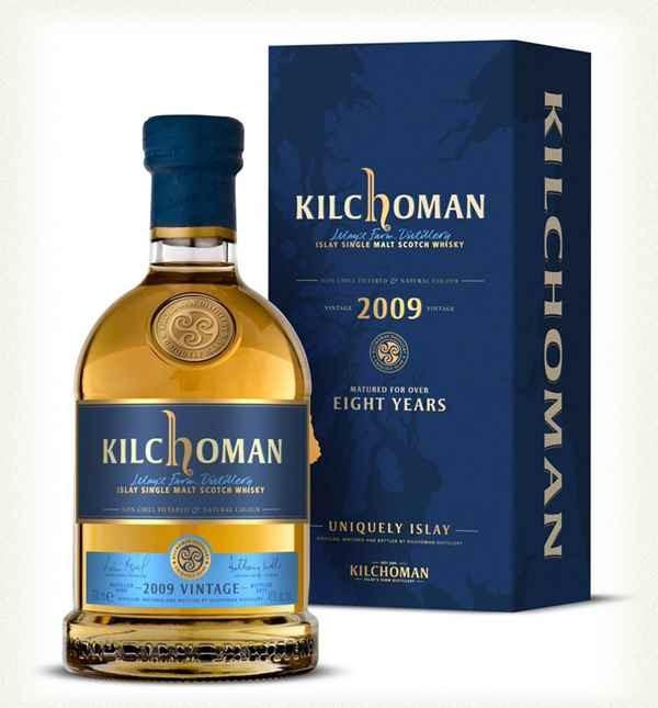 Kilchoman Vintage 2009 - 8 Y (70cl, 46%)