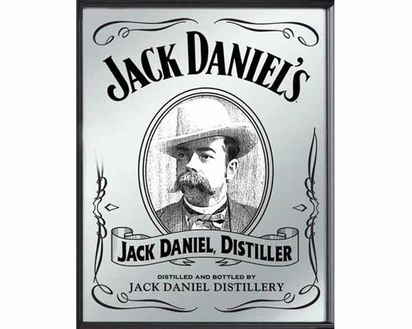 JD MIRROR JACK DANIEL DISTILLER L370