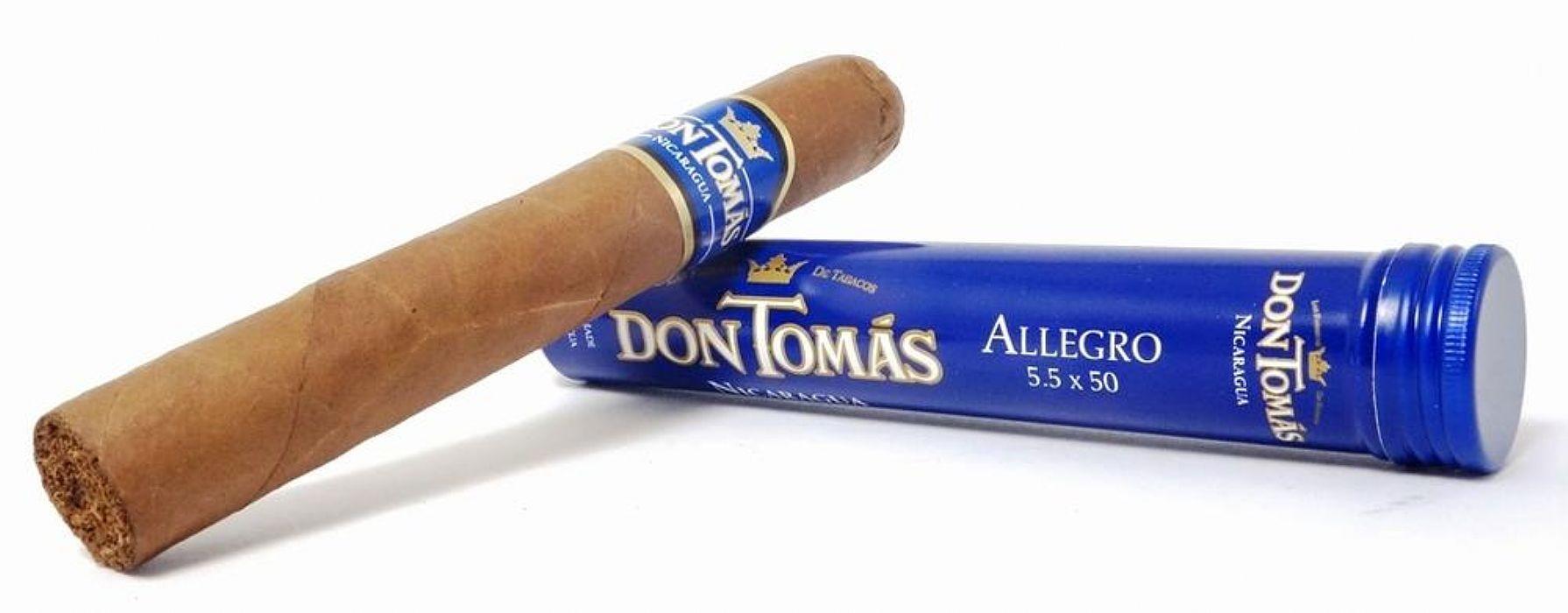 Don Tomas Nicaragua Allegro Tubos (Blue)