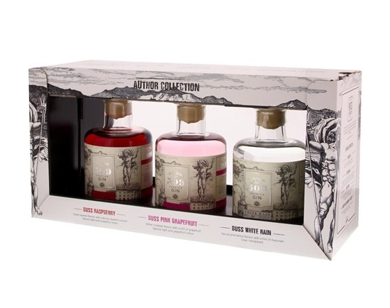 Buss 509 Limited Edition (3 x 20 cl Pink Grapefruit/Raspberry/White rain) 42.5° 0.6L