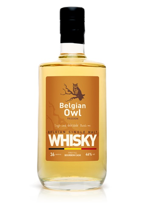 Whisky Belgian Owl Passion 0,5l - 46%