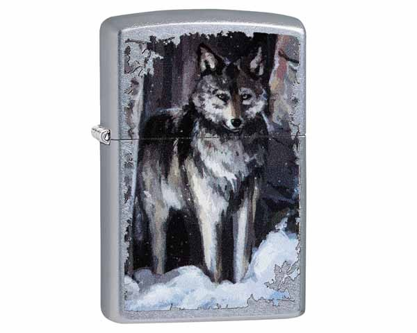 ZIPPO 60.03992 WOLF IN FOREST