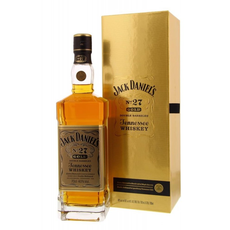 Jack Daniel's N°27 Gold Double Barreled 40° 0.7L