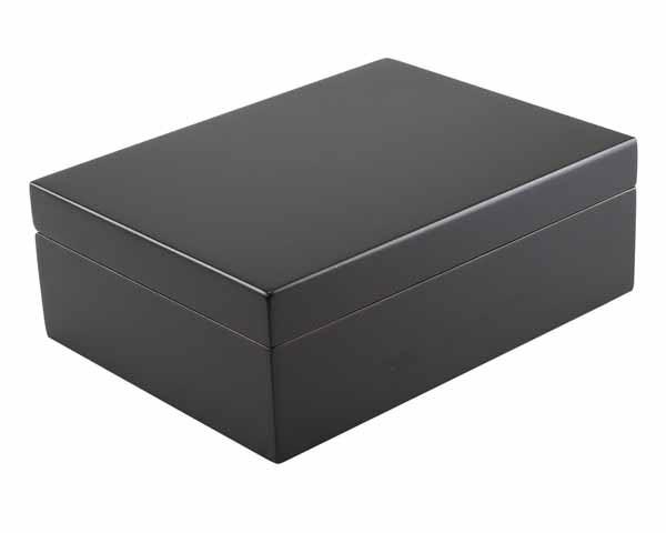 HUMIDOR 29001 GIFT SET BLACK MATT 25 CIGARS 24x18x8.4