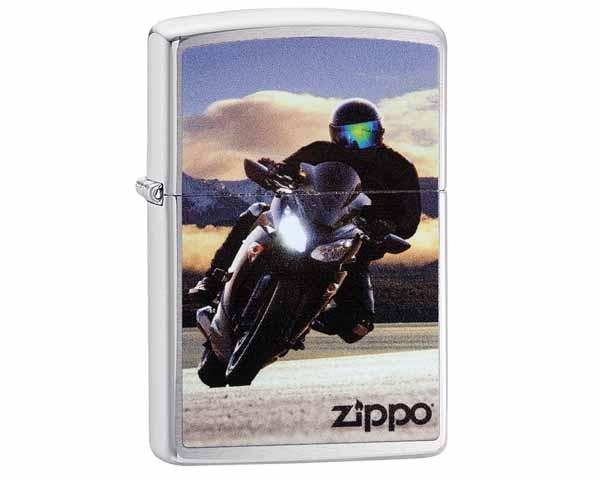 ZIPPO 60.003797 MOTOR BIKE DESIGN