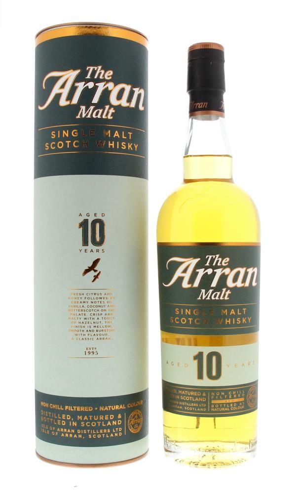 ARRAN 10 ans 0.7l Coffret 2 Verres Coffrets Cadeaux Of 46%