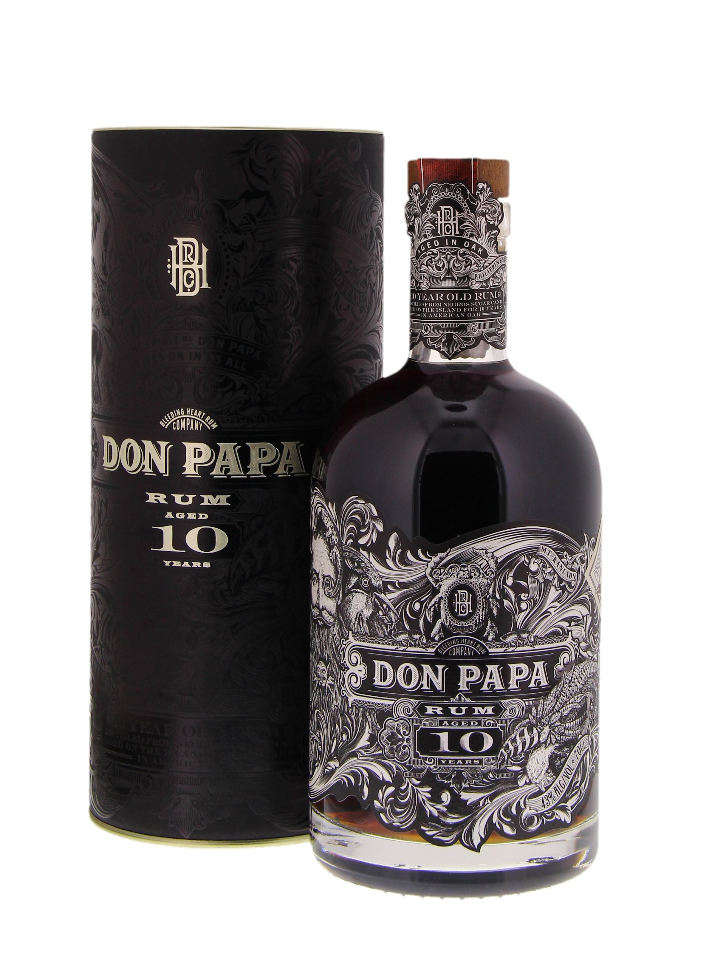 Don Papa 10 Years 43° 0.7L