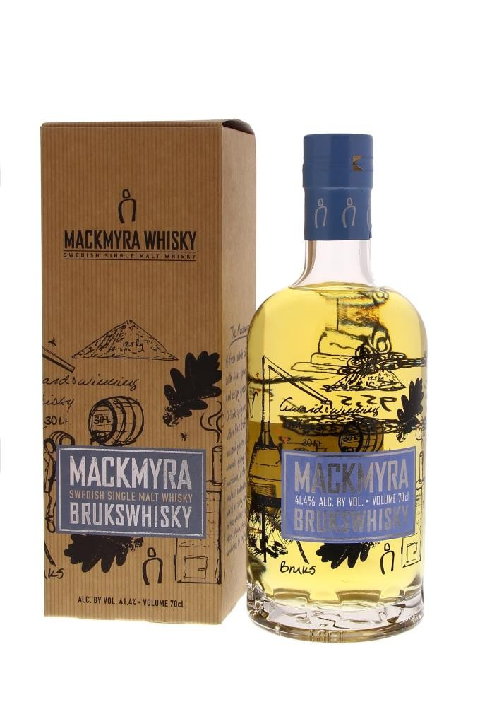 Mackmyra Brukswhisky 41.4° 0.7L