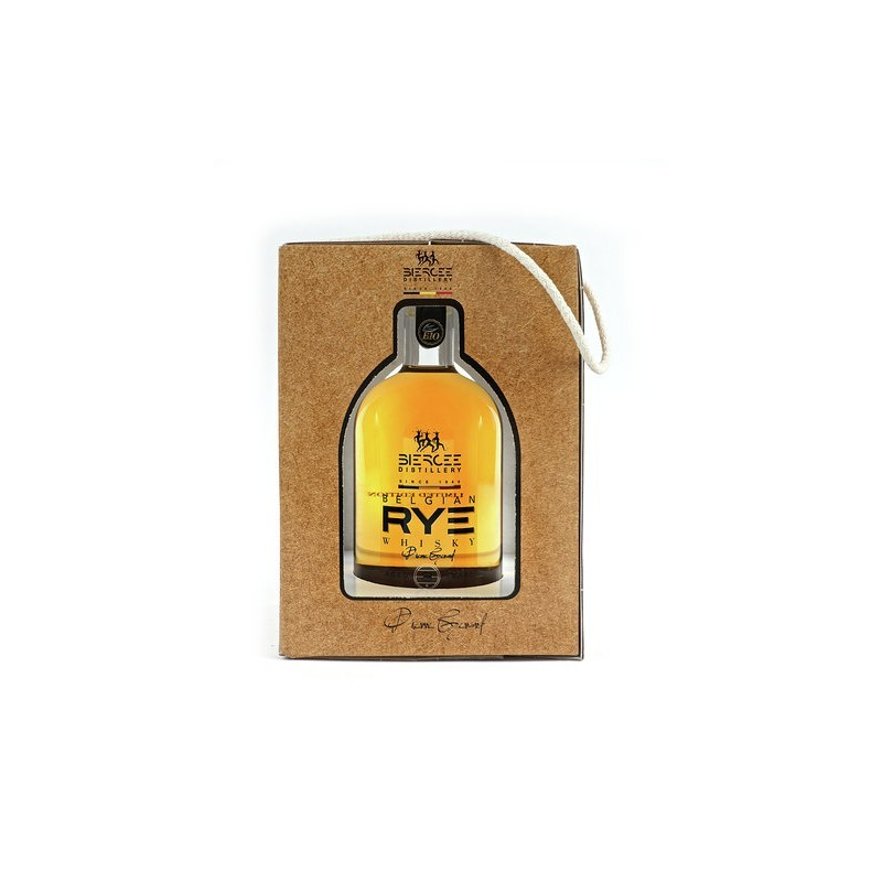 RYE Belgian organic pure malt 500ml 44% vol. BIO