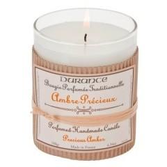 Bougie parfumée Ambre Précieux 180gr.