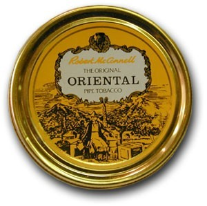 Robert Mc Connell Oriental 50g. tin