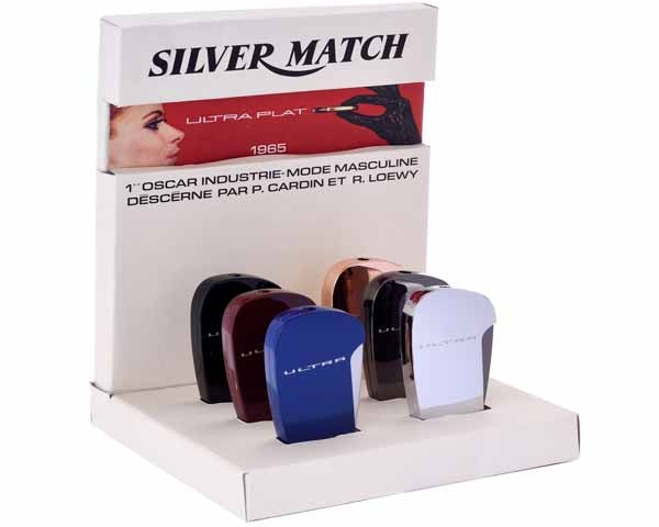 BRIQUET SILVER MATCH 40674230 ULTRA FLAT