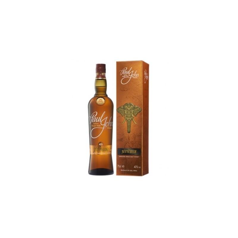 Whisky Indian single Malt PAUL JOHN 0,7l- 40%
