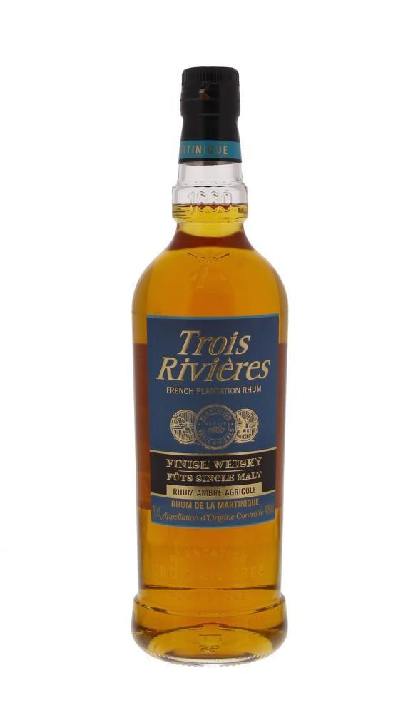 Trois Rivières Rhum Ambre Finish Whisky 40° 0.7L