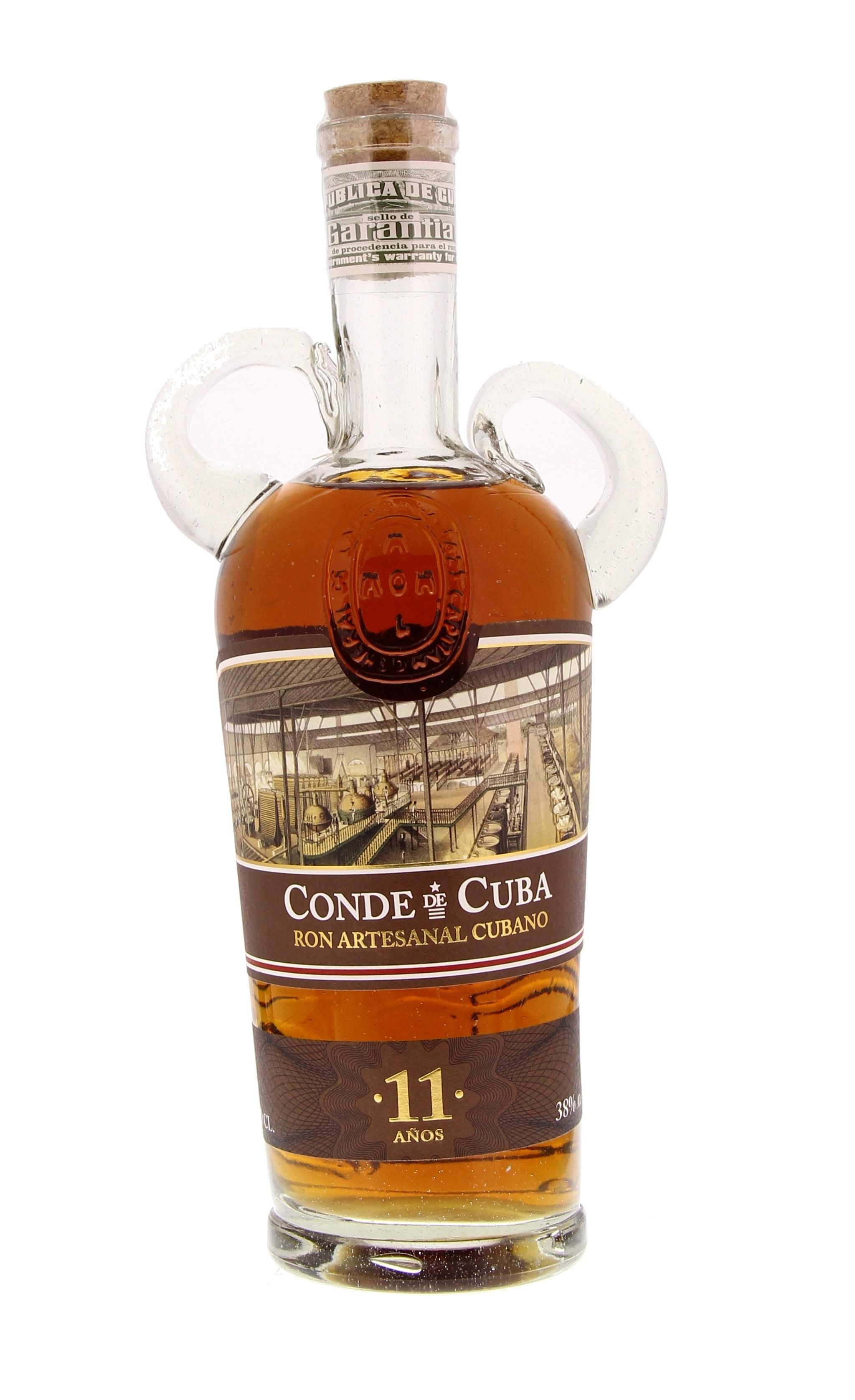 Conde de Cuba 11 Years 38° 0.7L