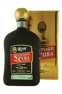Santiago de Cuba  - Extra anejo - 20 ans - 70cl - 40°